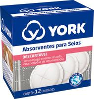 Absorvente para Seios York - 12 Unidades