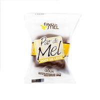 Pão de Mel Favo de Mel doce de leite, caixa com 10 unidades de 50g cada
