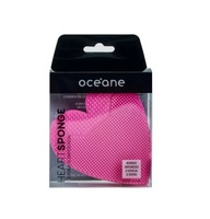 Esponja de Limpeza Facial Océane heart pink, 1 unidade