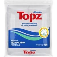 Algodão Topz quadrado com 40g