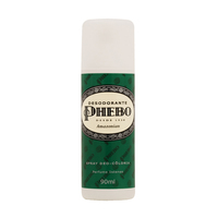 Desodorante Unissex Phebo amazonian, spray, 1 unidade com 90mL