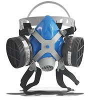Respirador Semi Facial Alltec Mastt 2402 VO duas vias, tamanho único