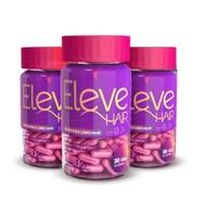 Eleve Hair 3 frascos com 30 cápsulas cada