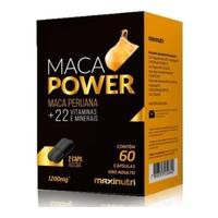 Maca Power 1200mg, caixa com 60 cápsulas