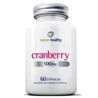 Cranberry Nature Healthy 500mg, frasco com 60 cápsulas