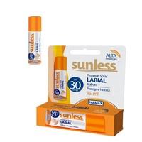 Protetor Solar Labial Sunless FPS 30, roll-on, 15mL