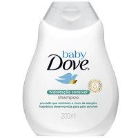 Shampoo Baby Dove Hidratação Sensível 200ml