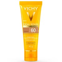 Protetor Solar Vichy Ideal Soleil Clarify moreno, FPS 60, 40g