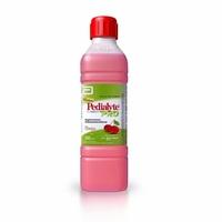 frasco com 500mL de solução oral, sabor cereja