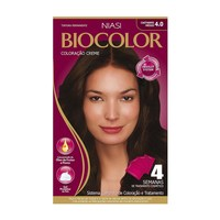Tintura Creme Biocolor nº 4.0 castanho médio