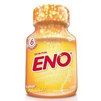 frasco com 100g de pó efervescente de uso oral, laranja