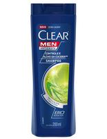 Shampoo Anticaspa Clear Men Controle da Coceira 200mL
