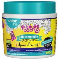 Máscara Capilar Salon Line Tô de Cacho Desmaia Crespíssimo 500g