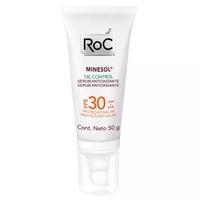 Protetor Solar Minesol Oil Control Sérum Antioxidante - FPS 30, 50g