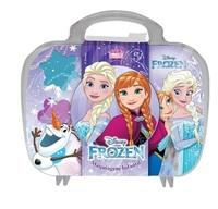 Maquiagem Infantil View Cosméticos maleta, Frozen