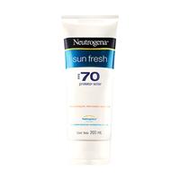 Protetor Solar Neutrogena Sun Fresh FPS 70, loção com 200mL