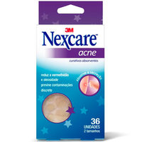 Curativos Absorventes para Acne Nexcare 36 unidades
