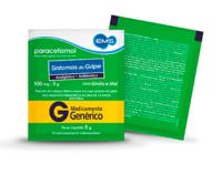 Paracetamol EMS 100mg/g, sachê com 5g de pó para solução de uso oral