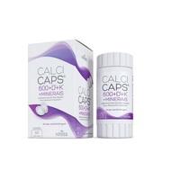 Calcicaps 600 + D3 + K1 + Minerais caixa com 60 cápsulas gelatinosas