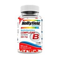 Complexo B Hollyfield Advance 500mg, frasco com 60 cápsulas