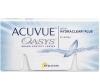 Lente de Contato Acuvue Oasys para Hipermetropia grau +3.50, 3 pares