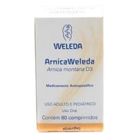 Arnica Weleda com 80 comprimidos