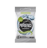 Preservativo Prudence anatômico com 3 unidades