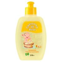 Shampoo Infantil Cheirinho de Bebê Cabelos Cacheados 210mL