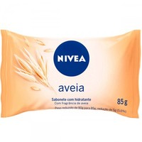 Sabonete Hidratante Nivea aveia, barra, 85g
