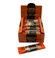Barra de Cereais Flowbar amendoim, caixa com 12 unidades de 30g cada