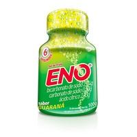 frasco com 100g de pó efervescente de uso oral, guaraná