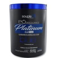 Pó Descolorante SoupleLiss Platinum blue com 500g