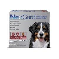NexGard 25,1Kg a 50Kg, caixa com 3 tabletes mastigáveis