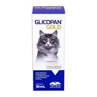 Glicopan Gold frasco com 30mL de solução de uso oral