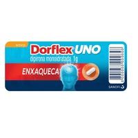 Dorflex Uno 1g, blíster com 4 comprimidos