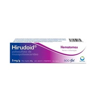 Hirudoid 5mg/g, caixa com 1 bisnaga com 40g de gel de uso dermatológico
