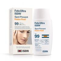 Protetor Solar Facial Isdin Foto Ultra Spot Prevent Fusion Fluid FPS 99 com 50mL