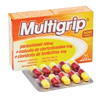 400mg + 4mg + 4mg, blíster com 10 cápsulas gelatinosas duras