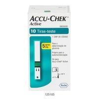 Tiras Medidoras de Glicose Accu-Chek Active 10 unidades