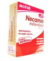 Necamin 100mg, caixa com 6 comprimidos