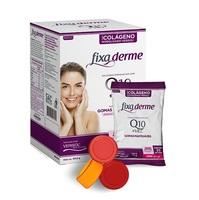 Colágeno Hidrolisado Fixa Derme Q10 + Vitamina C gomas mastigáveis, 15 sachês com 3 unidades cada