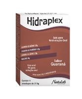 Hidraplex 4 envelopes com 27,9g de pó para solução de uso oral, sabor guaraná