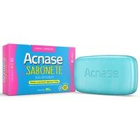 Sabonete Acnase Limpeza - esfoliante, barra, 80g