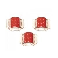 mini, vermelho, 3 unidades