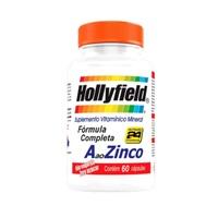 A ao Zinco Hollyfield frasco com 60 cápsulas