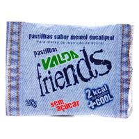 Pastilha Valda Friends menta com 25g