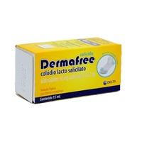 Dermafree 165mg/mL + 145,2mg/mL, frasco com 15mL de solução de uso dermatológico