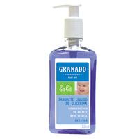 Sabonete de Glicerina Granado Bebê lavanda, líquido, 1 unidade com 250mL