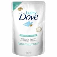 Sabonete Baby Dove Hidratação Sensível refil, líquido, 1 unidade com 180mL