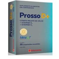 Prosso D+ caixa com 30 comprimidos